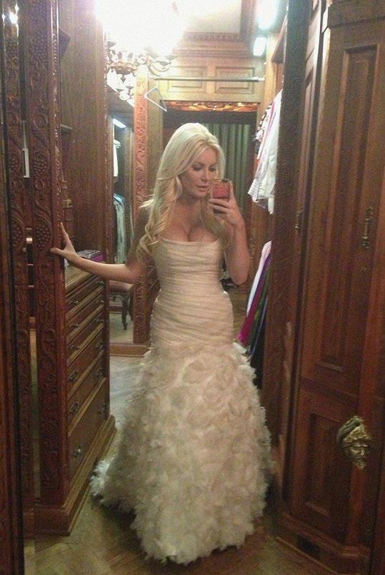 Crystal jako nevěsta.