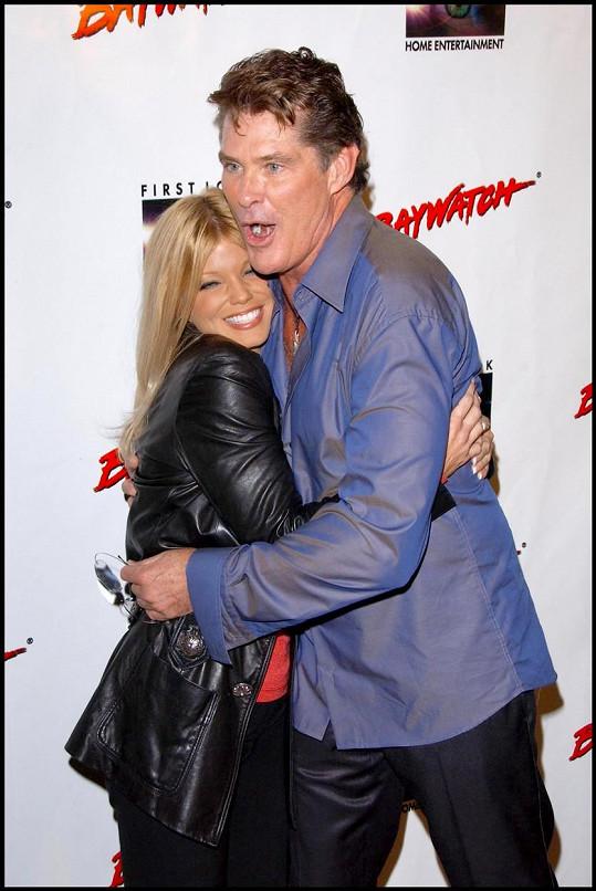S kolegou ze slavného seriálu Davidem Hasselhoffem