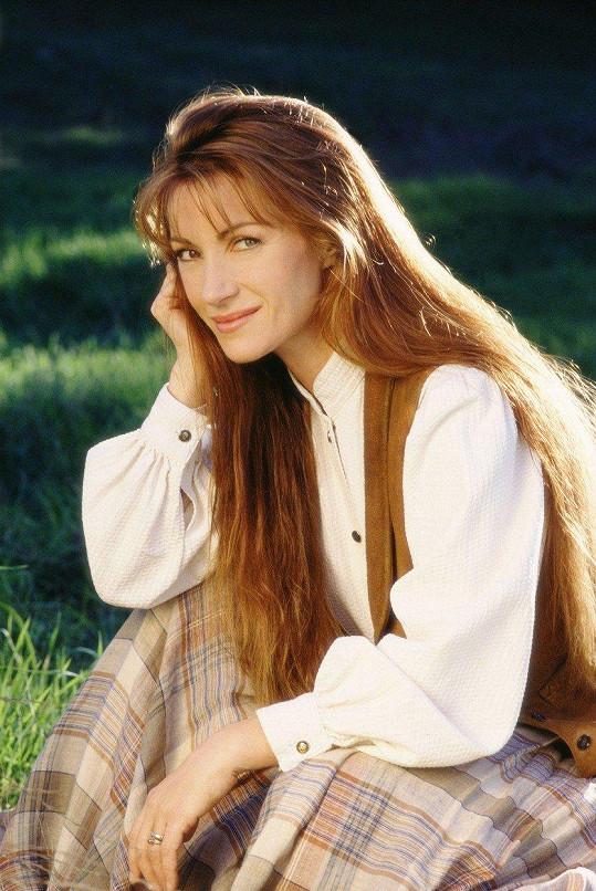Jane Seymour ve své nejznámější roli dr. Quinnové z roku 1993