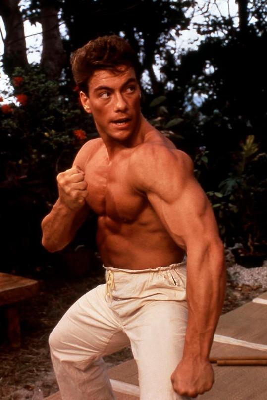 Jean-Claude van Damme se proslavil jako hrdina akčních filmů.