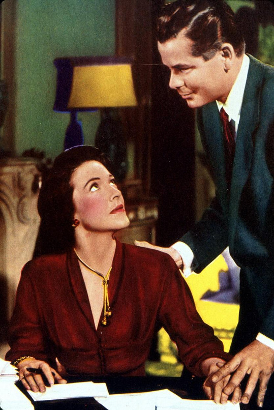 S Glennem Fordem v romantickém dramatu The Doctor and the Girl z roku 1949