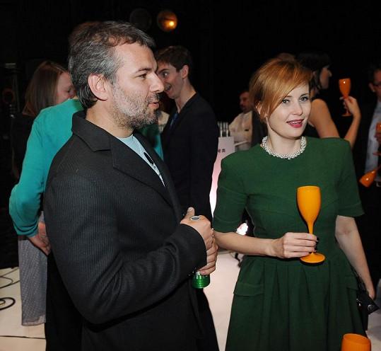Jitka Schneiderová s přítelem Davidem Císařem