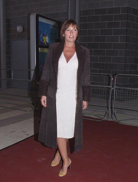 Davina McCall v roce 2000, předtím, než začala rodit děti.