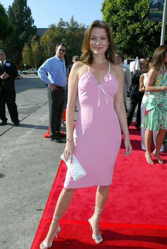 Herečka na snímku z roku 2004