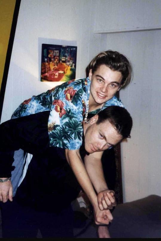 Leo s bratrem Adamem na archivním snímku