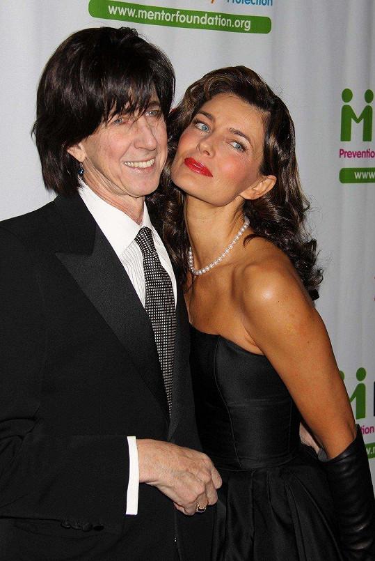 Pavlína Pořízková loni oznámila, že jsou s manželem Ricem Ocasekem už rok od sebe.