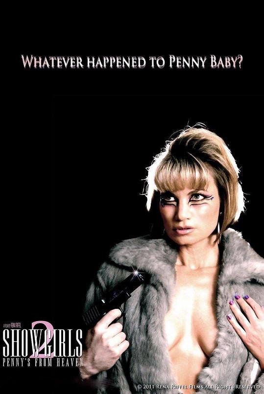 Plakát k druhému dílu Showgirls, který Rena režírovala.