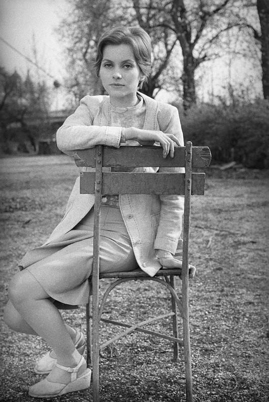 Marta Vančurová na konci 60. let.