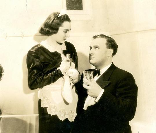 Hana Vítová a Karel Lamač v komedii Milování zakázáno (1938)