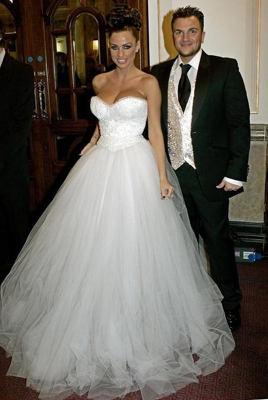 Svatební foto Petera Andreho s Katie Price (2005)