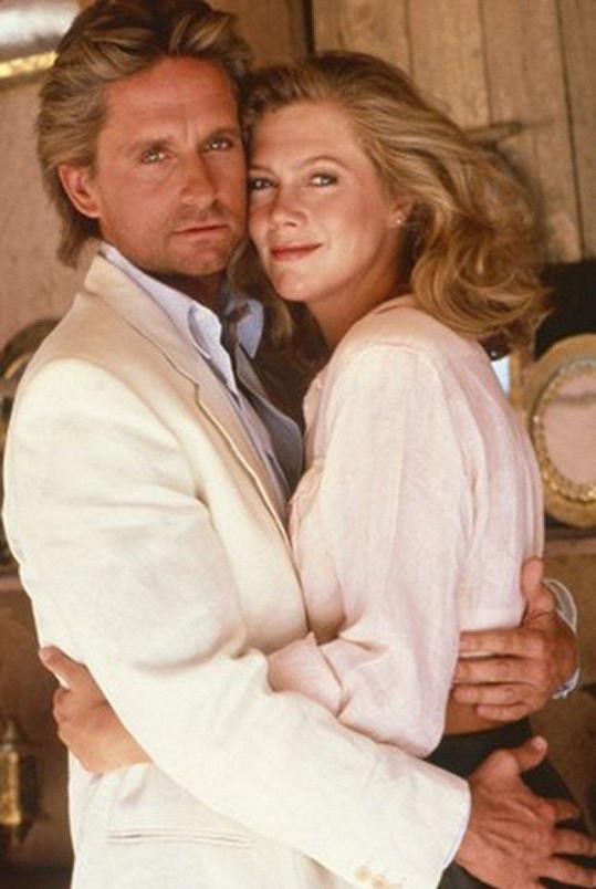 Opravdu vypadali jako zamilovaný pár, když spolu natáčeli Honbu za klenotem Nilu.