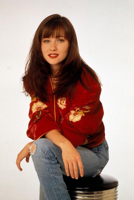 Shannen Doherty jako Brenda v seriálu Beverly Hills 90210 (1990)