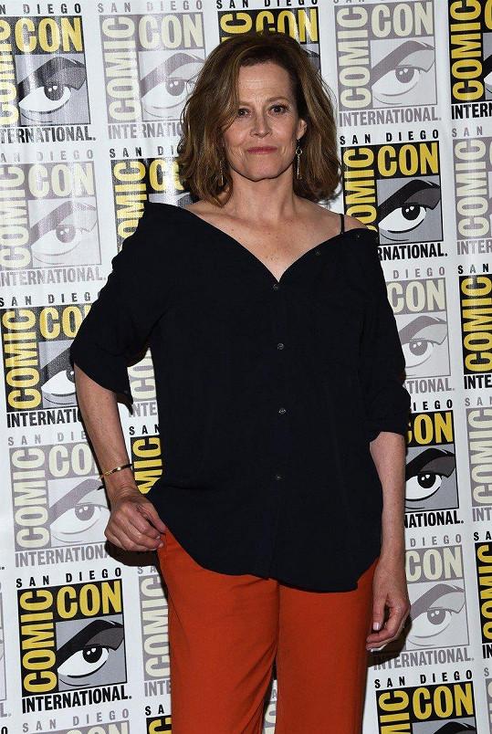 O dva týdny dřív přiletěla pracovně do San Diega na největší komiksovou slávu světa, festival Comic-Con.