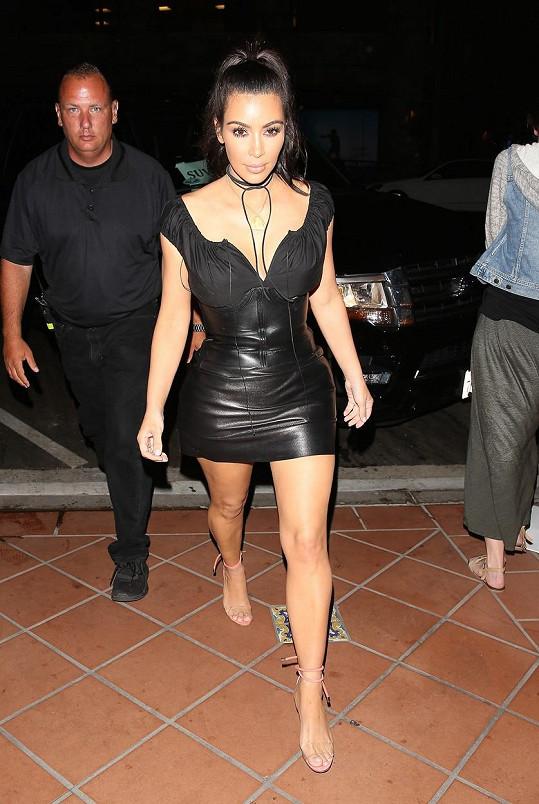 Kim se dostala na váhu 54 kilogramů.