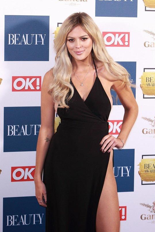 Jen pár hodin před zahájením londýnských Beuty Awards 2017, kde byla hostem, se totiž rozešla se svým přítelem.