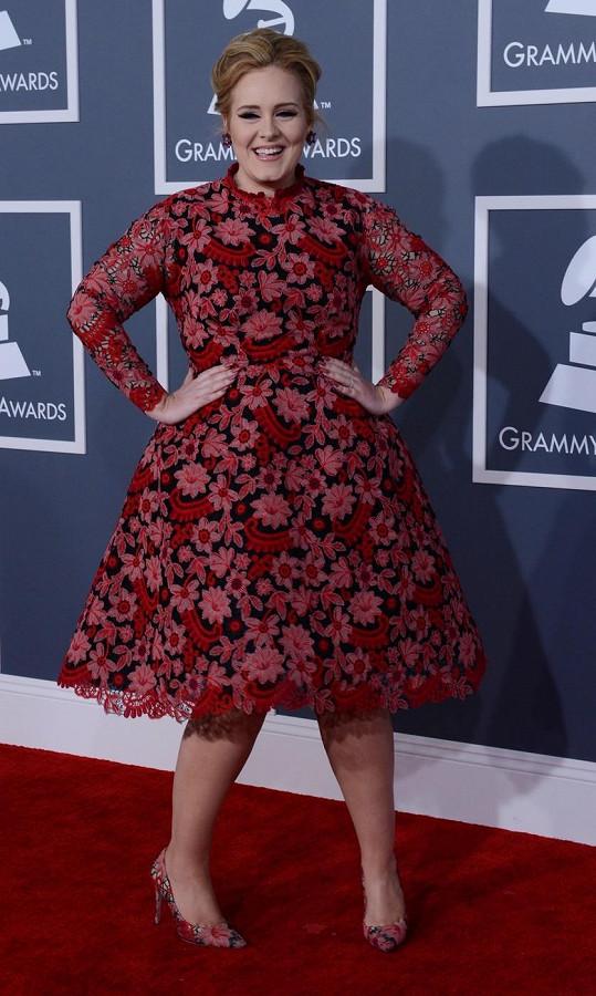 Model zpěvačky Adele vzbudil rozdílné názory.