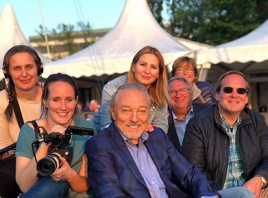Karel Gott momentálně natáčí v Hamburku dokument o svém životě.