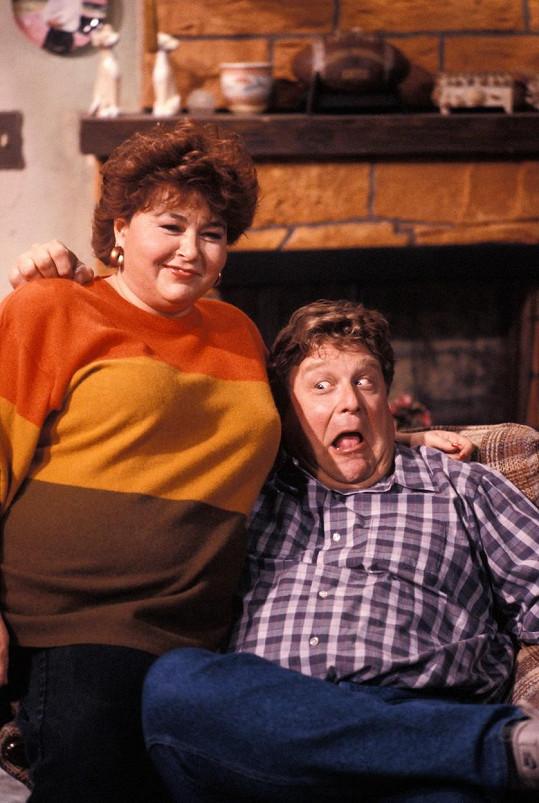 V seriálu Roseanne to byli dva tlouštíci.