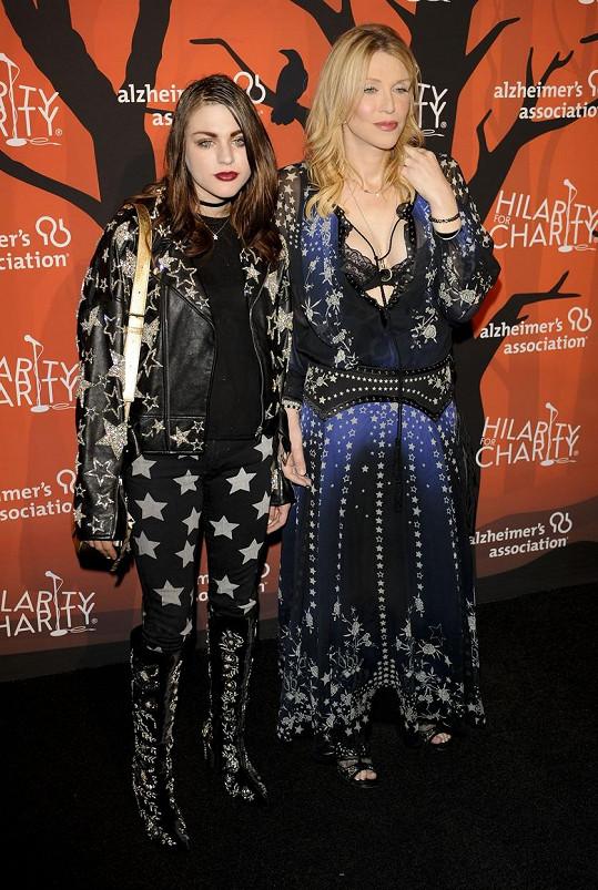 Courtney Love s dcerou Frances Bean Cobain