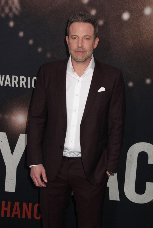 Ben Affleck stihl dva filmové projekty, které mu dopomohly k výdělku 1 220 175 000 korun.