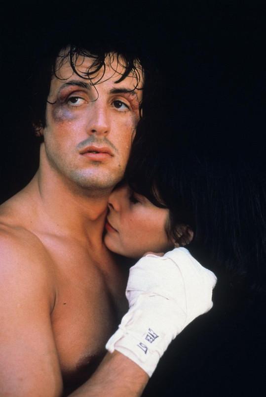 Sylvester Stallone a Talia Shire ve filmu Rocky