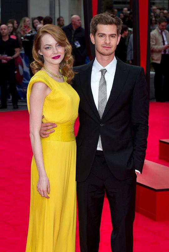 Emma a Andrew byli vždy ozdobami červeného koberce.
