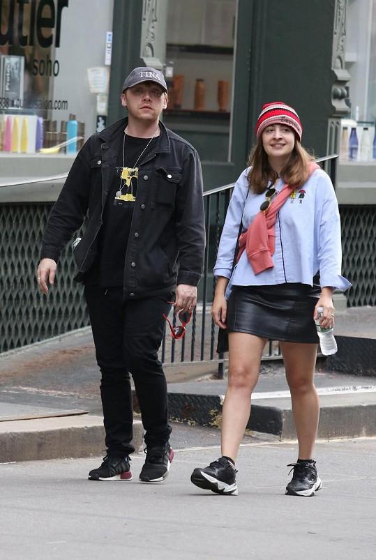 S partnerkou Georgií jsou ve vztahu od roku 2011.