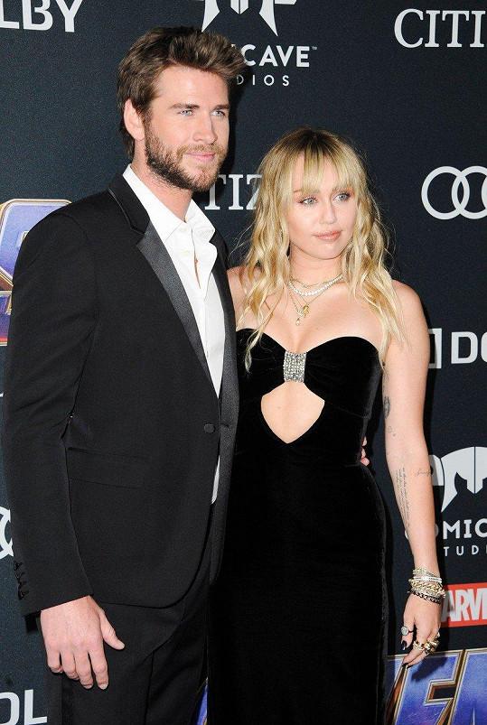 S manželem Liamem Hemsworthem