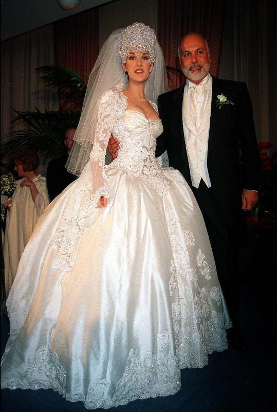 O rok později se provdala za svého osudového muže Reného Angélila.