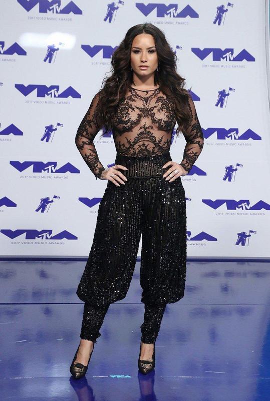 Demi Lovato na udílení MTV Video Music Awards