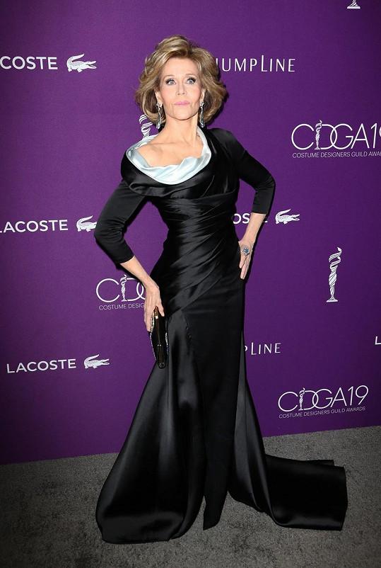Jane Fonda na udílení CDGA Awards