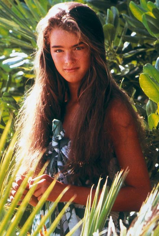 Brooke Shields ve své nejslavnější roli. Modrá laguna měla premiéru v roce 1980.