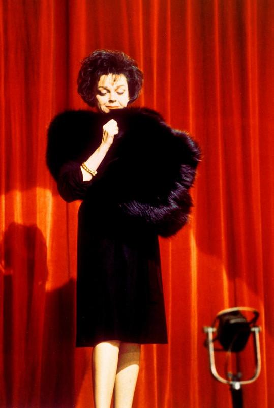 Při jedné z jejích posledních show