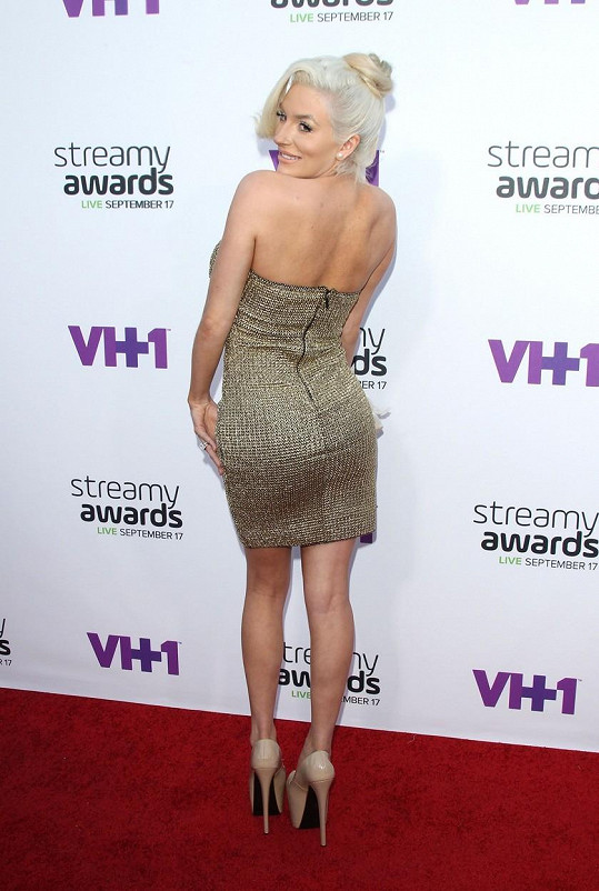 Courtney na Streamy Awards