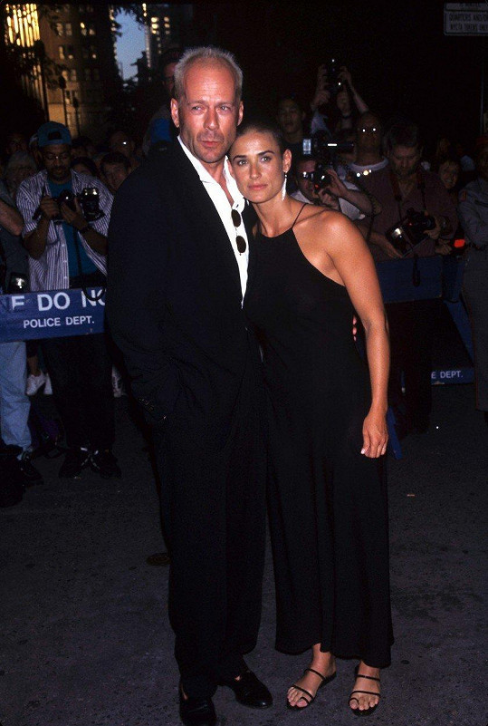 Bruce Willis a Demi Moore