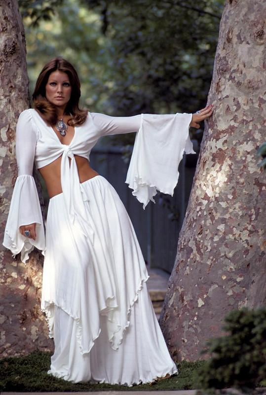 V sedmdesátých letech okouzlovala a lovila další vlivné muže.