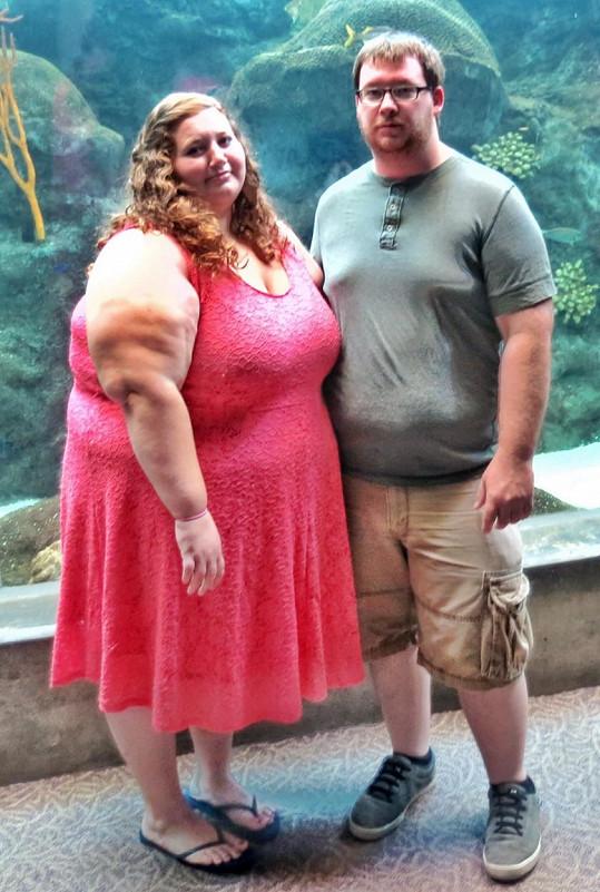 Lexi a Danny společně vážili téměř 350 kil.