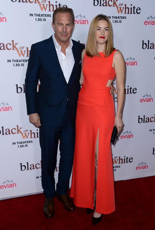 Kevin Costner se svou krásnou dcerou
