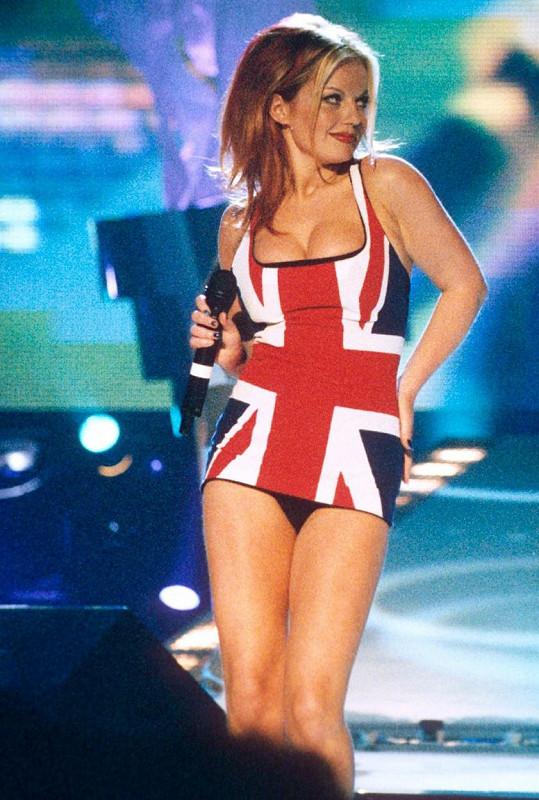 Geri Horner v době, kdy byly Spice Girls na vrcholu slávy.