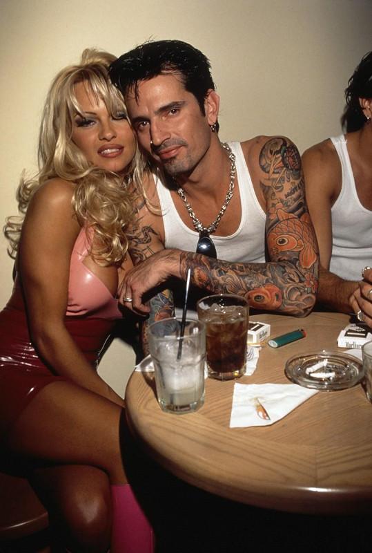 Tommy s exmanželkou Pamelou Anderson