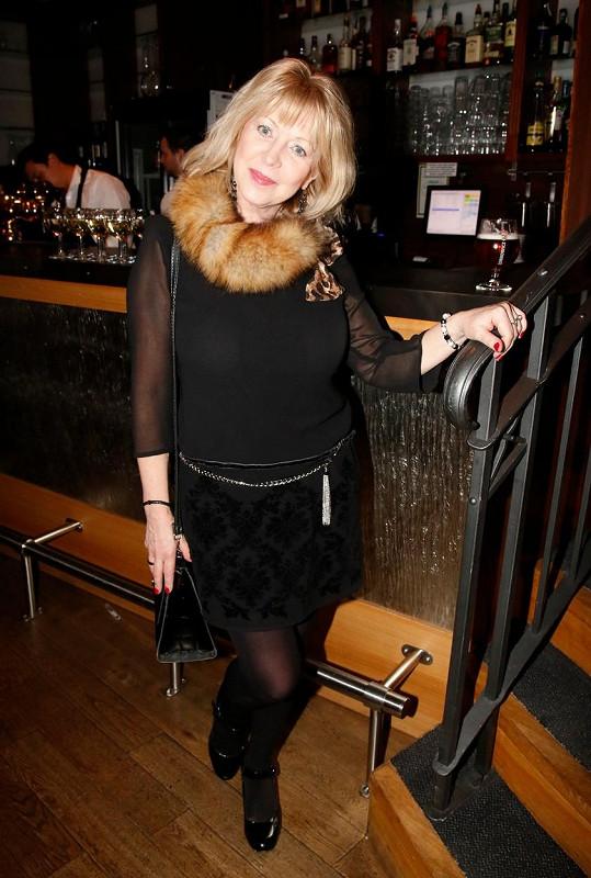 Vlasta Žehrová je oblíbenou českou herečkou.