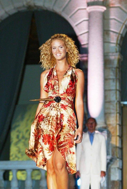 Kateřina Sedláková ve finále České Miss 2005