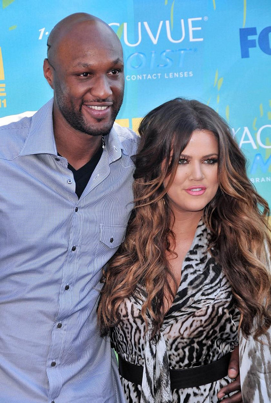 Khloé Kardashian s exmanželem Lamarem Odomem