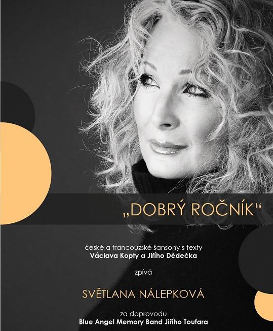 Zpěvačka vystoupí dnes večer v Malostranské Besedě.