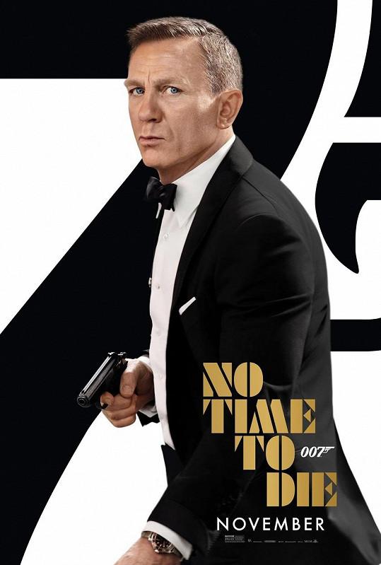 Jeho poslední bondovka Není čas zemřít jde do kin 30. září.