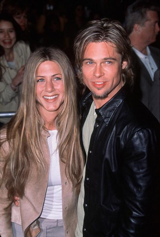 Brad a Jennifer tvořili v letech 2000 - 2005 manželský pár.