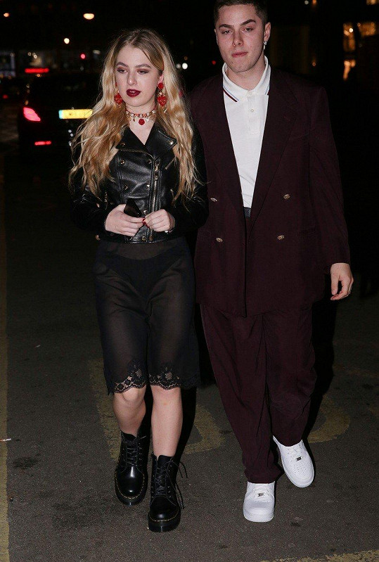 Anaïs Gallagher s přítelem Antonionim