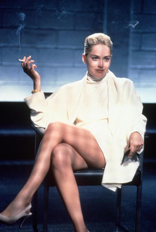 Legendární scéna a její nezapomenutelná role ve filmu Základní instinkt.