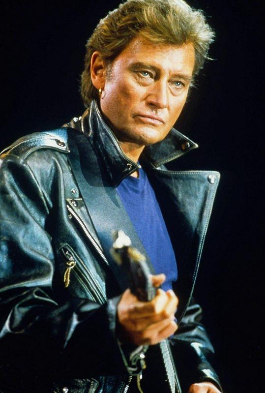 Johnny Hallyday byl ve frankofonních zemích mimořádně populární.