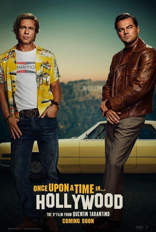 Brad a Leo na oficiálním plakátu k filmu